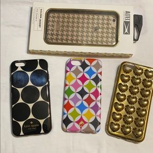 Lot of 4 iPhone 6 cases!!